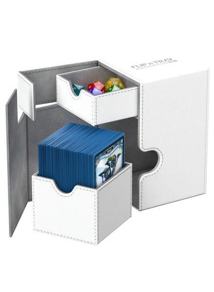 Ultimate Guard UG Deck Case Flip N Tray Xenoskin 100+: White
