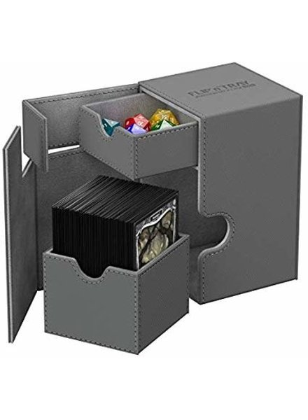 Ultimate Guard UG Deck Case Flip N Tray Xenoskin 100+: Grey