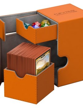 Ultimate Guard UG Deck Case Flip N Tray Xenoskin 100+: Orange