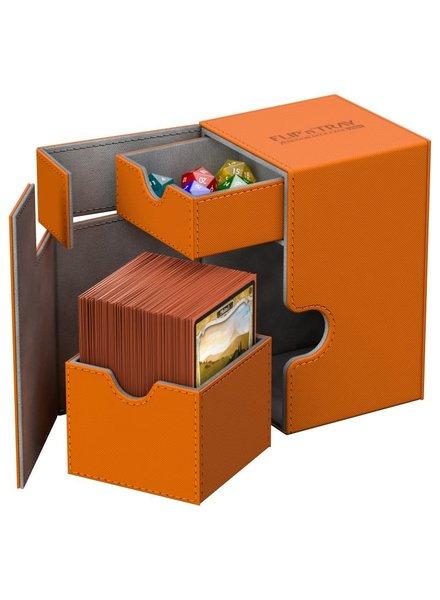 Ultimate Guard UG Deck Case Flip N Tray Xenoskin 100+: Orange