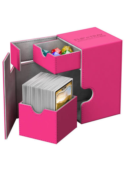 Ultimate Guard UG Deck Case Flip N Tray Xenoskin 100+: Pink