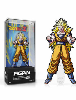 FiGPiN Dragon Ball Z: Super Saiyan 3 Goku FiGPiN Enamel Pin