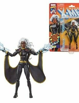 Hasbro X-Men Retro Marvel Legends 6-Inch Black Outfit Storm Action Figure - Exclusive