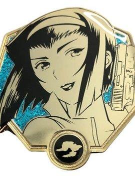 Zen Monkey Cowboy Bebop Golden Faye Valentine Enamel Pin