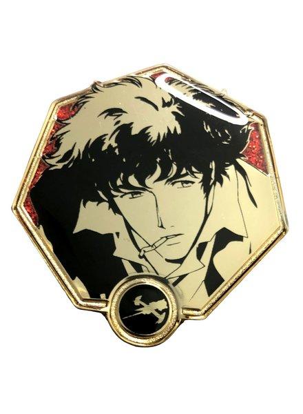 Zen Monkey Cowboy Bebop Golden Spike Spiegel Enamel Pin
