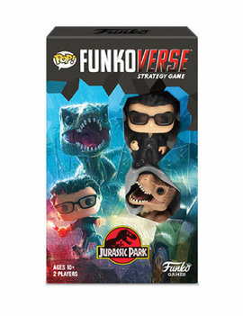 Funko POP! Funkoverse - Jurassic Park 101 Strategy Game Expandalone