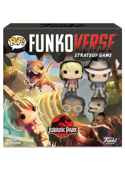 Funko POP! Funkoverse - Jurassic Park 100 Strategy Game