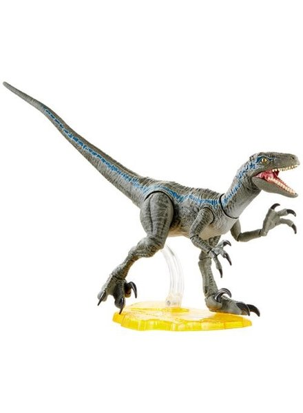 Mattel Jurassic World Amber Collection - Velociraptor Blue Action Figure