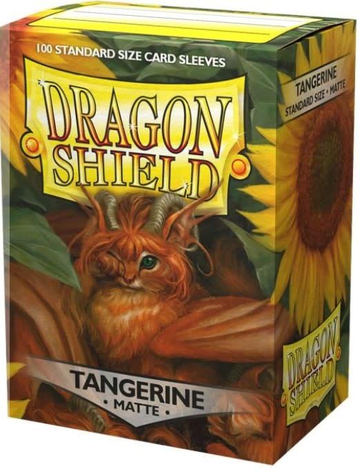 Dragon Shield Dragon Shield Matte 100Ct: Tangerine