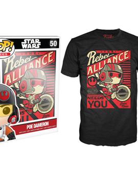 POP T-shirt - Star Wars - Poe Propaganda - XLarge
