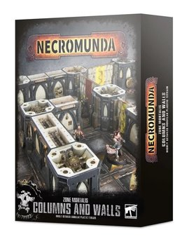 Necromunda Zone Mortalis Columns and Walls