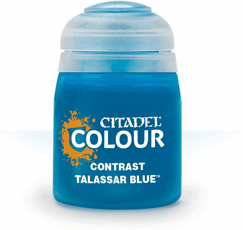 Citadel Paint Contrast: Talassar Blue