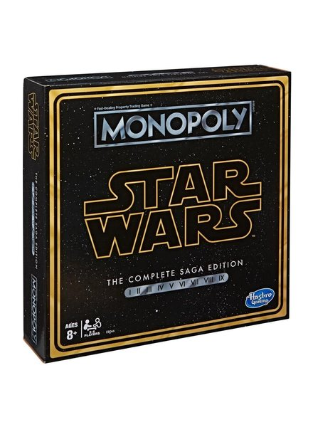 Parker Brothers Monopoly: Star Wars Saga Edition