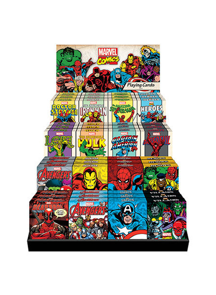 Marvel Marvel Playing Cards Assorted