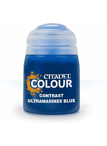 Games Workshop Citadel Paint Contrast: Ultramarines Blue