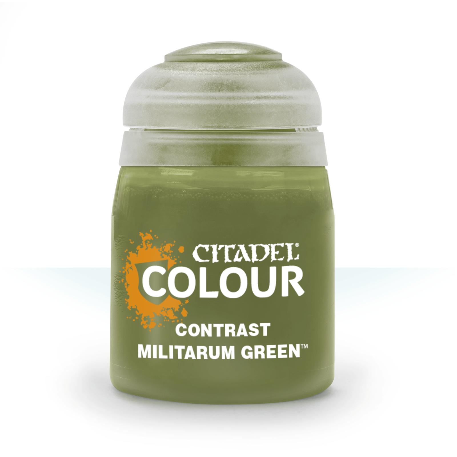 Citadel Paint Contrast: Militarum Green