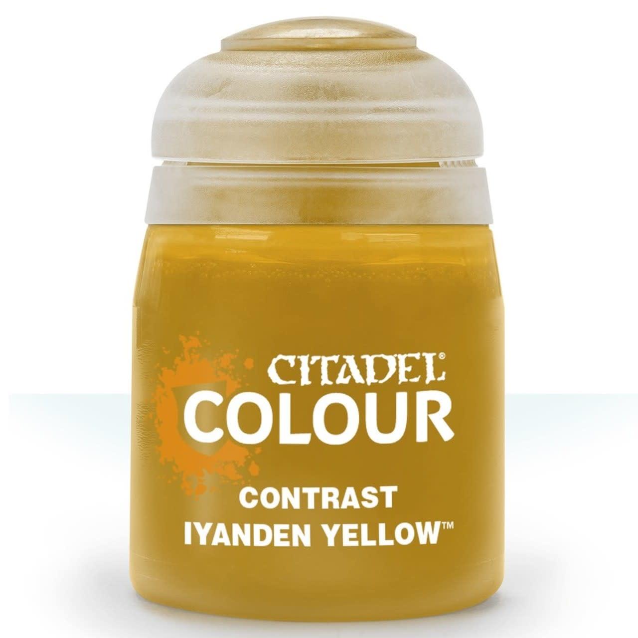 Citadel Paint Contrast: Iyanden Yellow