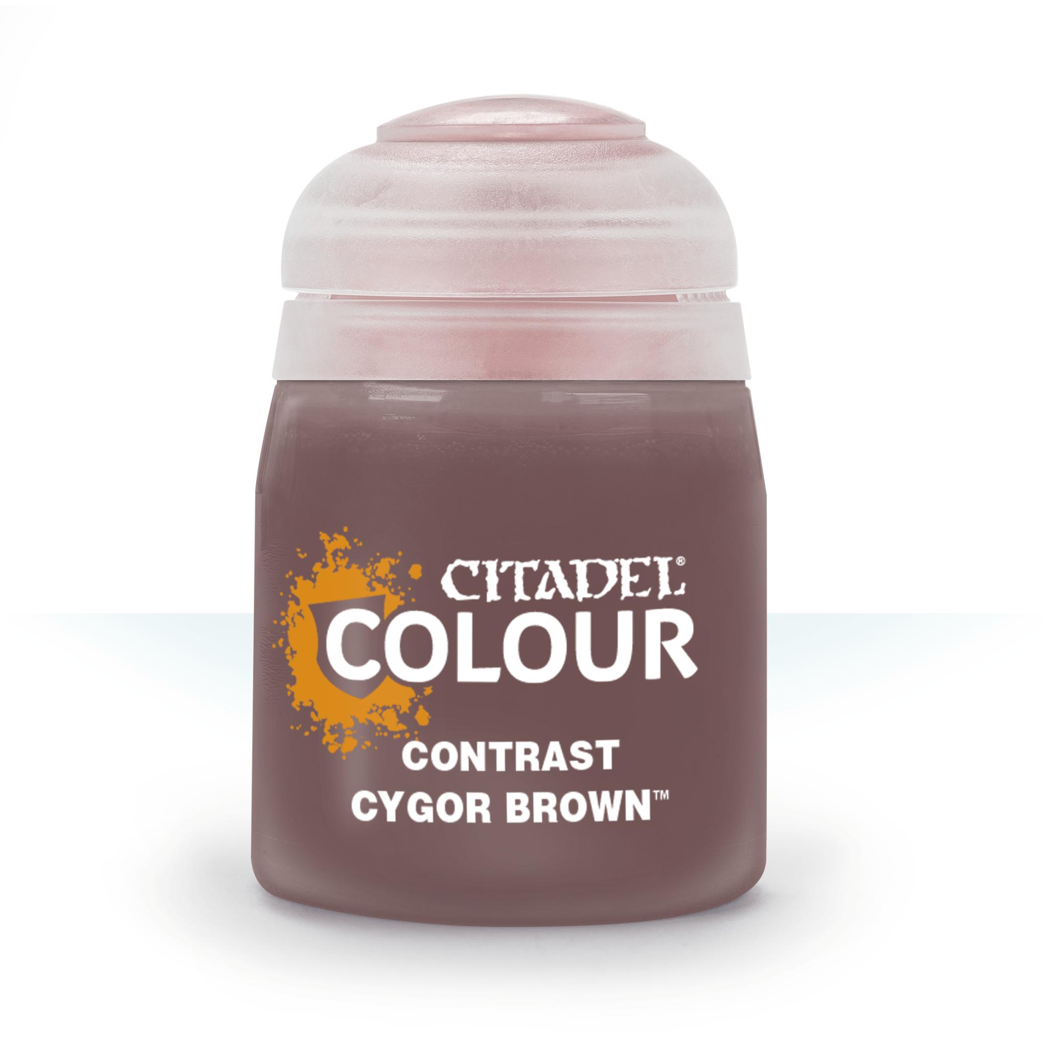Citadel Paint Contrast: Cygor Brown