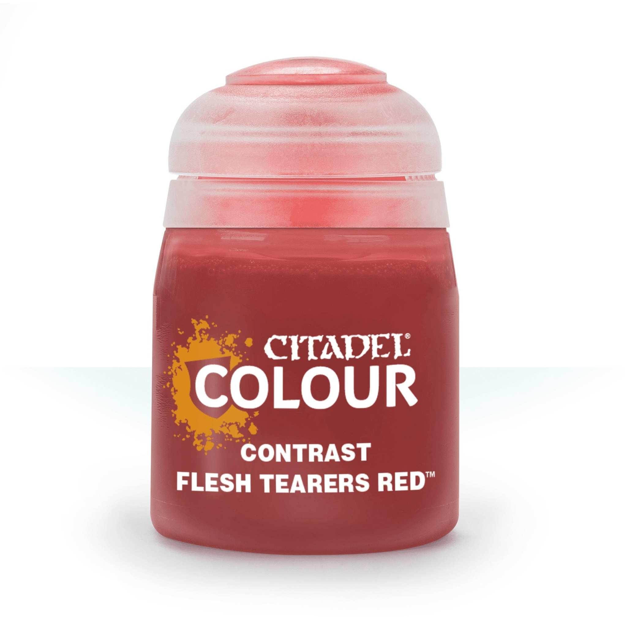 Citadel Paint Contrast: Flesh Tearers Red