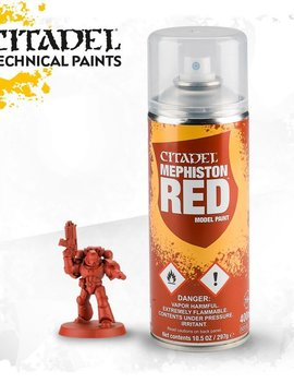 Citadel Spray Paint: Mephiston Red