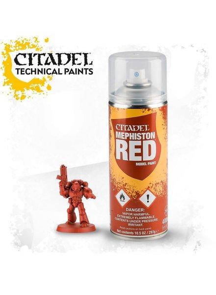 Citadel Spray Paint: Mephiston Red