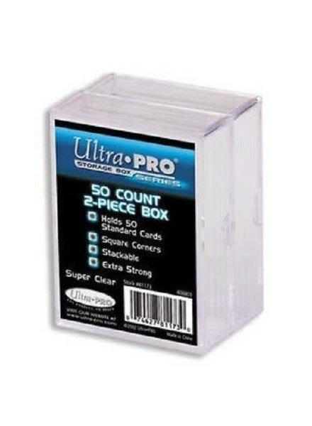 Ultra Pro UP 2 Piece Storage Box: 50 Count