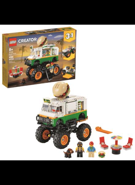 Lego Creator Monster Burger Truck LEGO #31104