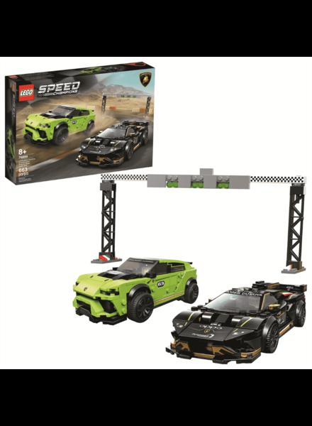 Lego Speed Champions Lamborghini Urus ST-X & Lamborghini Huracan Super Trofeo EVO LEGO #76899