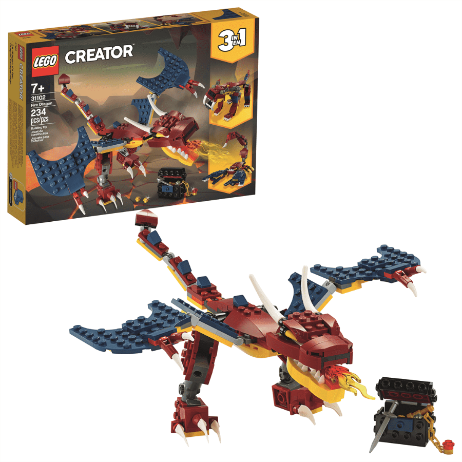 Lego LEGO CREATOR: Fire Dragon LEGO