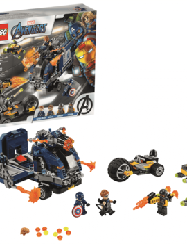 Lego LEGO MARVEL: Avengers Truck Take-down