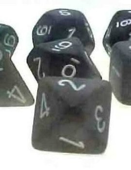 Chessex: Frosted Smoke/White 7CT RPG Set