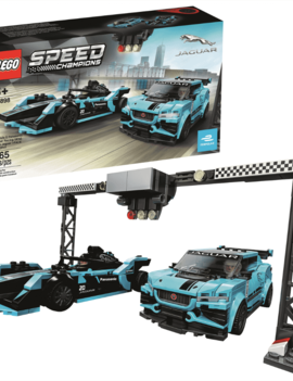 Lego LEGO SPEED CHAMPIONS: Formula E Panasonic Jaguar Racing Gen2 car & Jaguar I-PACE eTROPHY