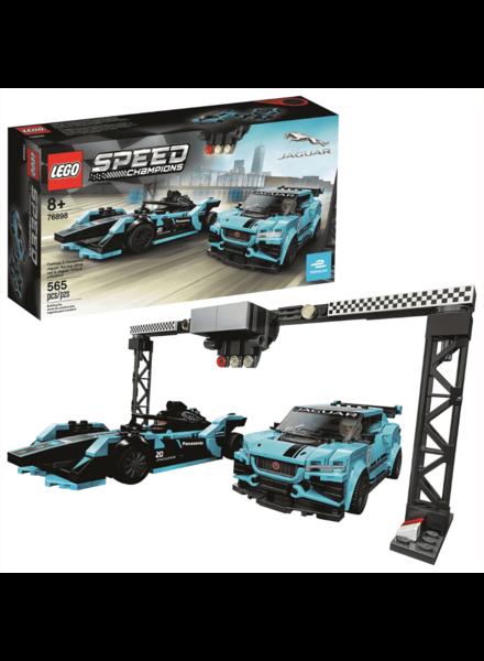 Lego Speed Champions Formula E Panasonic Jaguar Racing Gen2 car & Jaguar I-PACE eTROPHY LEGO #76898