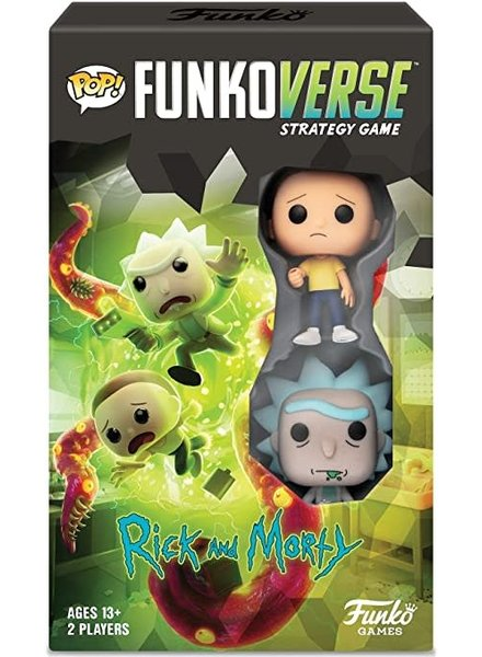 Funko POP! Funkoverse - Rick & Morty 100 Strategy Game