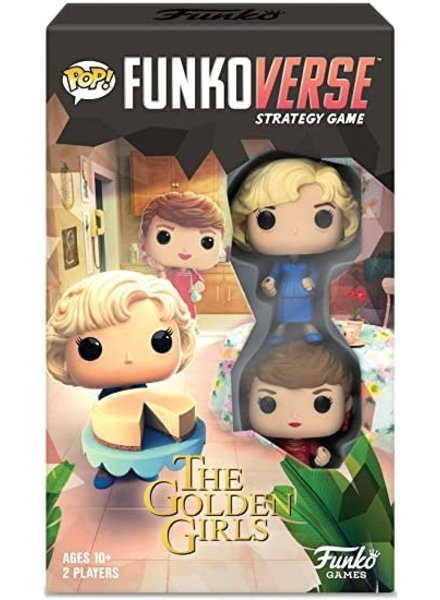 Funko POP! Funkoverse - Golden Girls 100 Strategy Game