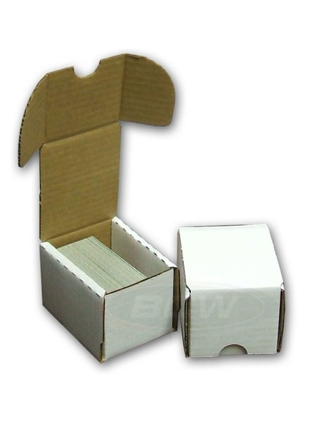 Cardboard Card Box: 100Ct