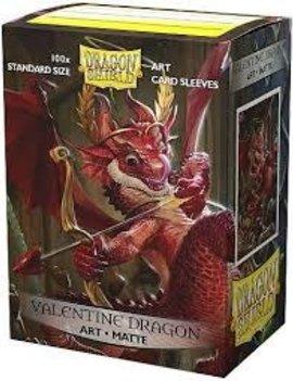 Dragon Shield Dragon Shield Matte 100Ct: 2020 Valentine