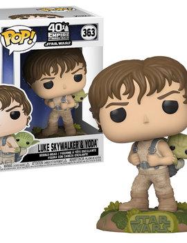 POP! Luke Skywalker & Yoda