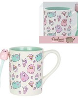 Enesco Pusheen the Cat Sweets Mug with Spoon