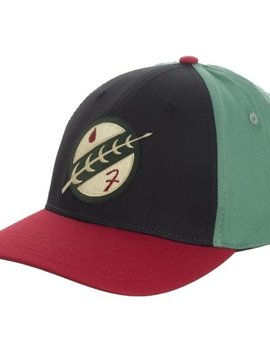 Bioworld Boba Fett Embroidered Flex Fit Hat