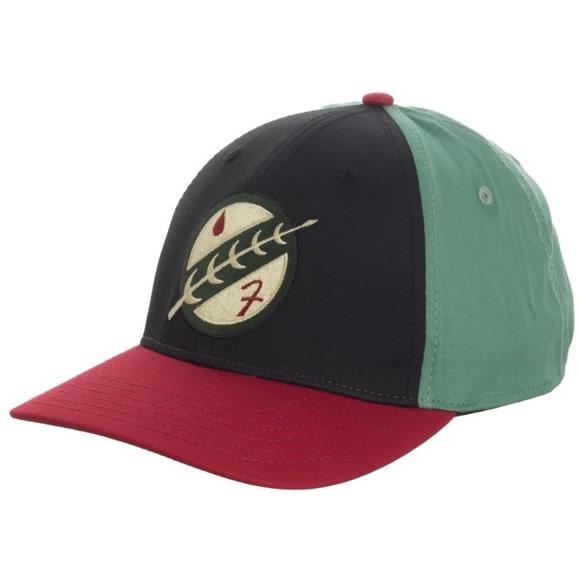 Bioworld Boba Fett Embroidered Flex Fit Hat