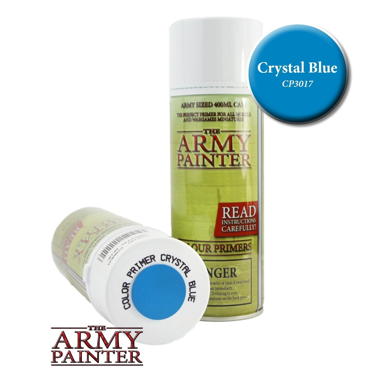 Army Painter Colour Primer - Crystal Blue