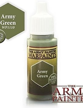 Army Painter Paint 18Ml. Army Green