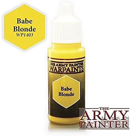 Army Painter Paint 18Ml. Babe Blonde