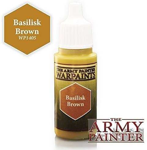 Army Painter Paint 18Ml. Basilisk Brown