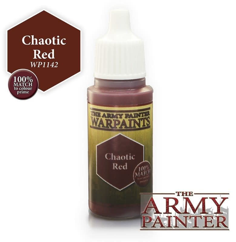 Army Painter Paint 18Ml. Chaotic Red