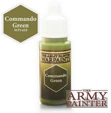 Army Painter Paint 18Ml. Commando Green