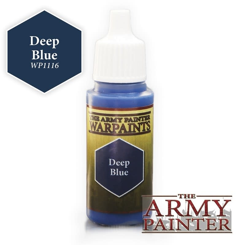 Army Painter Paint 18Ml. Deep Blue