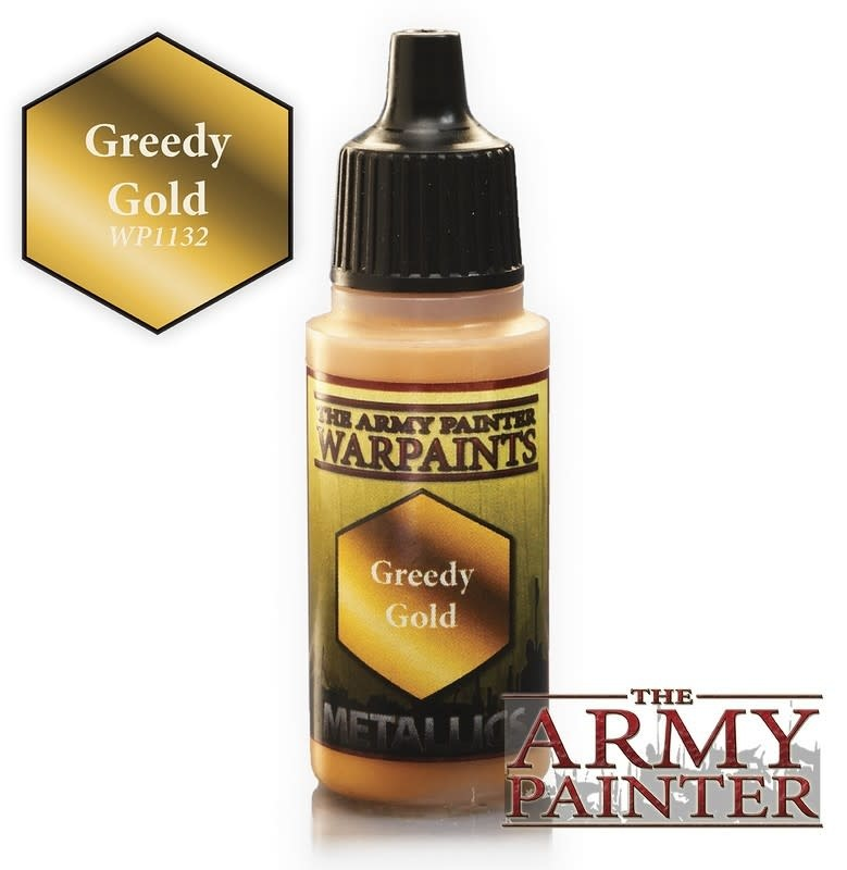 Army Painter Paint 18Ml. Greedy Gold