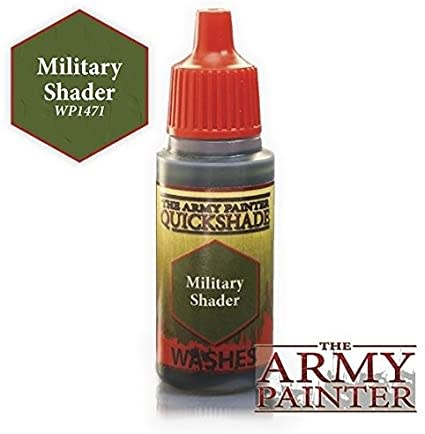 Army Painter Paint 18Ml. Military Shader